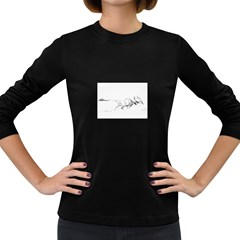 Buffalo / Bison gift Women s Long Sleeve Dark T-Shirt