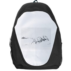 When Titans Collide 5x7 Backpack Bag