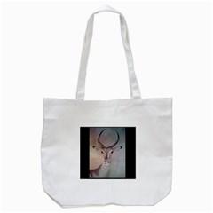 Savannaedblksq Tote Bag (white)