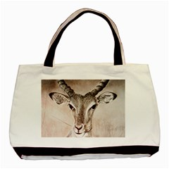 Antelope Horns Basic Tote Bag (two Sides)