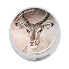 Antelope horns 4-Port USB Hub (Two Sides)