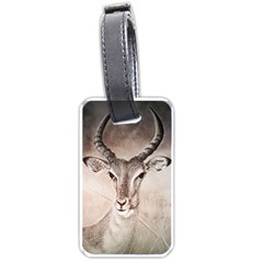 Antelope Horns Luggage Tags (two Sides)