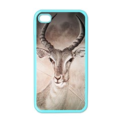 Antelope Horns Apple Iphone 4 Case (color)