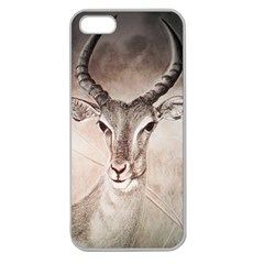 Antelope horns Apple Seamless iPhone 5 Case (Clear)