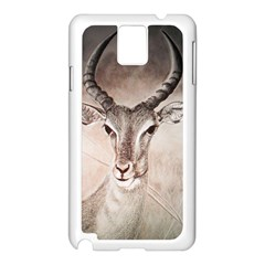 Antelope Horns Samsung Galaxy Note 3 N9005 Case (white)