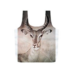 Antelope horns Full Print Recycle Bags (S)