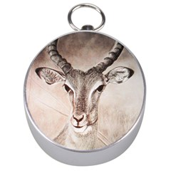 Antelope horns Silver Compasses