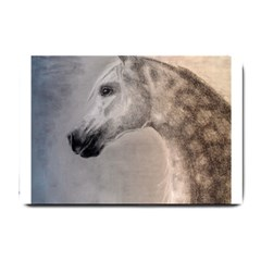 Grey Arabian Horse Small Doormat