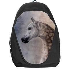 Grey Arabian Horse Backpack Bag