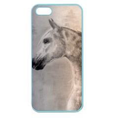 Grey Arabian Horse Apple Seamless iPhone 5 Case (Color)