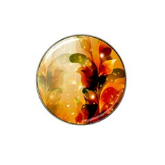 Awesome Colorful, Glowing Leaves  Hat Clip Ball Marker (10 pack)