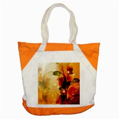 Awesome Colorful, Glowing Leaves  Accent Tote Bag