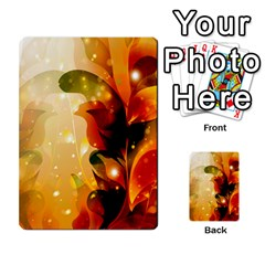 Awesome Colorful, Glowing Leaves  Multi Purpose Cards (rectangle)