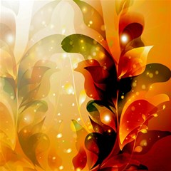 Awesome Colorful, Glowing Leaves  Magic Photo Cubes