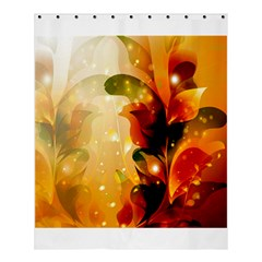 Awesome Colorful, Glowing Leaves  Shower Curtain 60  X 72  (medium)