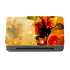 Awesome Colorful, Glowing Leaves  Memory Card Reader with CF