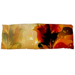 Awesome Colorful, Glowing Leaves  Body Pillow Cases (dakimakura)