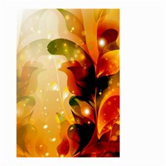Awesome Colorful, Glowing Leaves  Small Garden Flag (Two Sides)