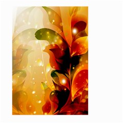 Awesome Colorful, Glowing Leaves  Large Garden Flag (Two Sides)