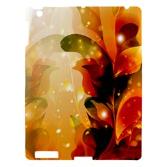 Awesome Colorful, Glowing Leaves  Apple iPad 3/4 Hardshell Case