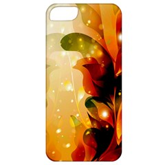 Awesome Colorful, Glowing Leaves  Apple iPhone 5 Classic Hardshell Case