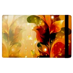 Awesome Colorful, Glowing Leaves  Apple iPad 3/4 Flip Case