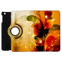 Awesome Colorful, Glowing Leaves  Apple iPad Mini Flip 360 Case