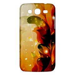 Awesome Colorful, Glowing Leaves  Samsung Galaxy Mega 5.8 I9152 Hardshell Case