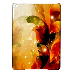 Awesome Colorful, Glowing Leaves  iPad Air Hardshell Cases