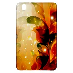 Awesome Colorful, Glowing Leaves  Samsung Galaxy Tab Pro 8.4 Hardshell Case