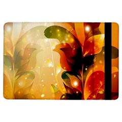 Awesome Colorful, Glowing Leaves  iPad Air Flip