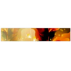 Awesome Colorful, Glowing Leaves  Flano Scarf (Large)