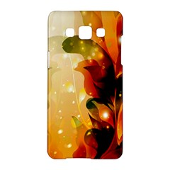 Awesome Colorful, Glowing Leaves  Samsung Galaxy A5 Hardshell Case