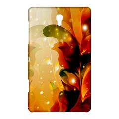 Awesome Colorful, Glowing Leaves  Samsung Galaxy Tab S (8 4 ) Hardshell Case