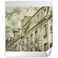 Neoclassical Style Buildings In Buenos Aires Argentina Canvas 8  x 10