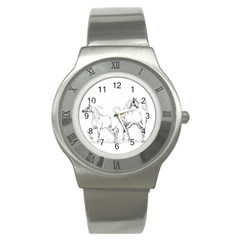Logosquare Stainless Steel Watches