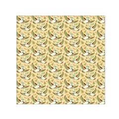 Owls in Flight Small Satin Scarf (Square)