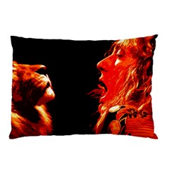 Robert And The Lion Pillow Cases