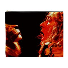 Robert And The Lion Cosmetic Bag (XL)
