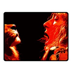 Robert And The Lion Fleece Blanket (small)