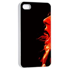 Robert And The Lion Apple Iphone 4/4s Seamless Case (white)