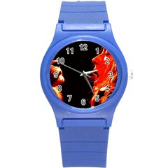 Robert And The Lion Round Plastic Sport Watch (S)
