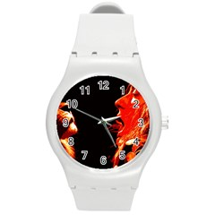 Robert And The Lion Round Plastic Sport Watch (M)