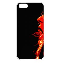 Robert And The Lion Apple iPhone 5 Seamless Case (White)
