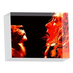 Robert And The Lion 5 x 7  Acrylic Photo Blocks
