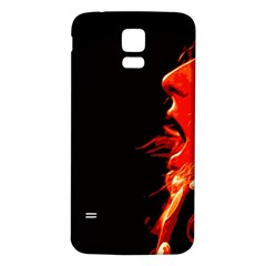 Robert And The Lion Samsung Galaxy S5 Back Case (White)