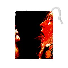 Robert And The Lion Drawstring Pouches (Large)