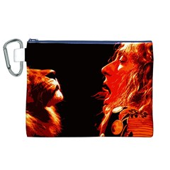 Robert And The Lion Canvas Cosmetic Bag (XL)