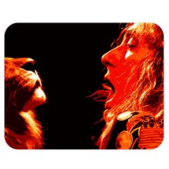 Robert And The Lion Double Sided Flano Blanket (medium)