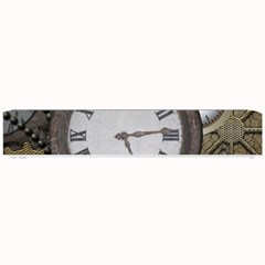 Steampunk, Awesome Clocks With Gears, Can You See The Cute Gescko Small Bar Mats